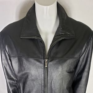 Wilson Leather Mens Leather Jacket Size XL